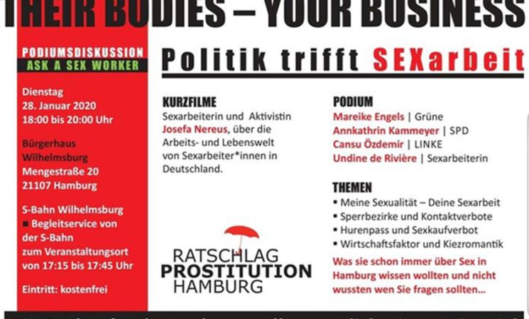 Hamburg | Their bodies – Your business!